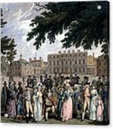 The Promenade In St James Park, C.1796 Acrylic Print
