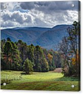 The Promised Land Cades Cove Acrylic Print
