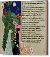 The Prophet - Kahlil Gibran  Acrylic Print