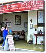 The Psychic Down The Shore Acrylic Print