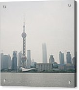 The Pudong Acrylic Print