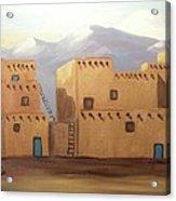 The Pueblo Acrylic Print
