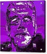 The Purple Monster Acrylic Print