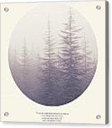 The Purpose Of Life Acrylic Print
