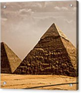 The Pyramids Of Giza Acrylic Print