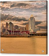 The Queen City Cincinnati Acrylic Print