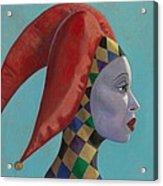 The Queen Acrylic Print by Leonard Filgate