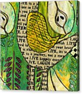 The Queen Of Pears Acrylic Print