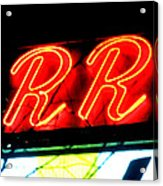 The R And R Acrylic Print