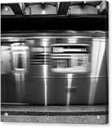 The R Train Nyc Subway Acrylic Print