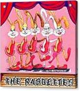 The Rabbettes Acrylic Print