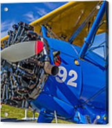 The Radial Engine Acrylic Print