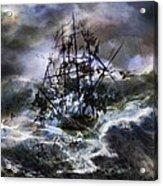 The Rage Of Poseidon IIi Acrylic Print