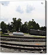 The Railroad From The Series View Of An Old Railroad Acrylic Print