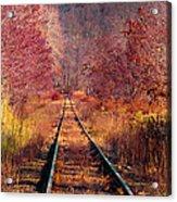 The Railroad Acrylic Print