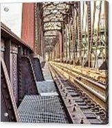 The Rails I Acrylic Print