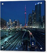 The Railway Lands Toronto Acrylic Print