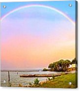 The Rainbow Acrylic Print