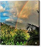 The Rainbow Acrylic Print