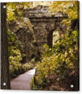 The Ramble Stone Arch Acrylic Print
