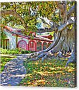 The Rancho Acrylic Print