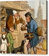 The Rat Trap Seller From Cries Acrylic Print