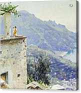 The Ravello Coastline Acrylic Print