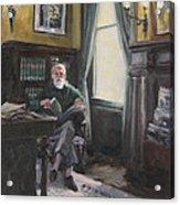 The Reading Room Acrylic Print