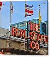 The Real Seafood Company 4201 Acrylic Print