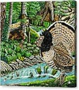 The Real Thunder Bird  Acrylic Print