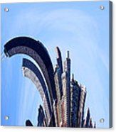 The Real Windy City - Chicago Acrylic Print by James Hammen
