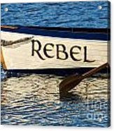 The Rebel Acrylic Print