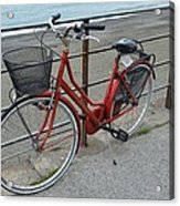 The Red Bicycle Acrylic Print