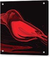 The Red Bird Acrylic Print