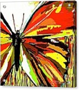 The Red Butterfly Acrylic Print