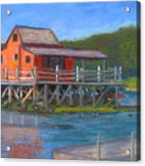 The Red Fish House Acrylic Print