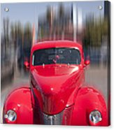 The Red Flash Acrylic Print