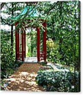 Asian Paths No. 29  Acrylic Print