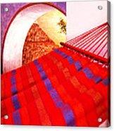 The Red Hammock Acrylic Print