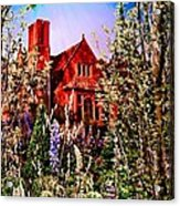 The Red House Acrylic Print