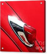The Red Jag Acrylic Print