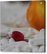 The Red Pill Acrylic Print
