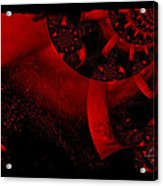 The Red Planet Cometh Acrylic Print
