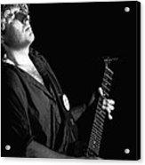 The Red Rocker In Spokane 1978 Acrylic Print