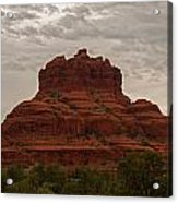 The Red Rocks Of Sedona Acrylic Print