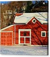 The Red Shed Acrylic Print