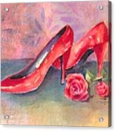 The Red Shoes Acrylic Print