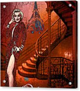 The Red Stair Acrylic Print
