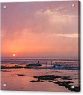 The Red Sunset Acrylic Print