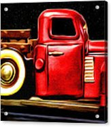 The Red Truck Acrylic Print